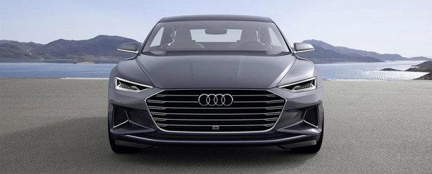 Noul Audi A8 va putea circula cu motorul oprit complet pana la viteze de 160 km/h