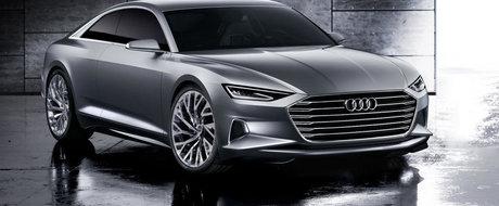 Noul Audi Prologue Concept anunta un rival pentru Mercedes S-Class Coupe