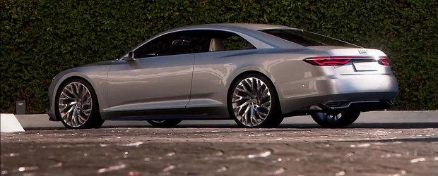 Noul Audi Prologue iese la o scurta plimbare pe strazile din LA