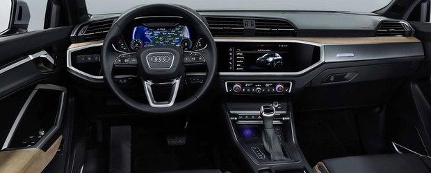 Noul AUDI Q3 este aici: confort sporit si motoare de pana la 230 CP pentru rivalul lui XC40, X1 si GLA