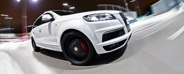 Noul Audi Q7 by MR Car Design este un fel de Hulk alb