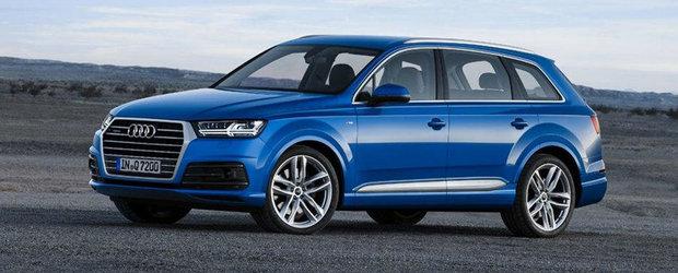 Noul Audi Q7: Primele imagini oficiale dau buzna pe internet