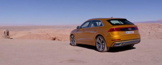 Noul Audi Q8 vine sa fure clientii de BMW X6 si Mercedes GLE Coupe. Dar merita banii?