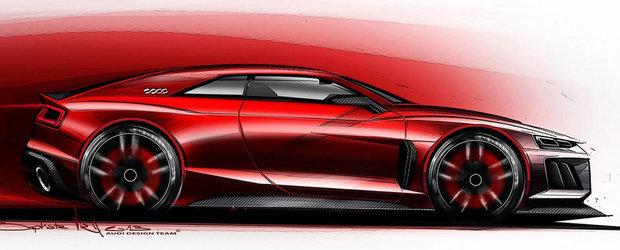Noul Audi Quattro, un hibrid de 800 de cai putere