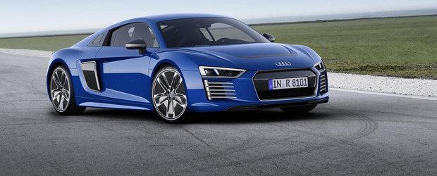 Noul Audi R8 e-tron cantareste cam cat un Q7