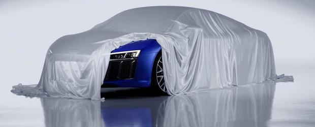 Noul Audi R8 ne arata farurile sale cu laser