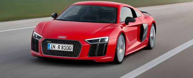 Noul Audi R8 ni se dezvaluie in prima imagine oficiala