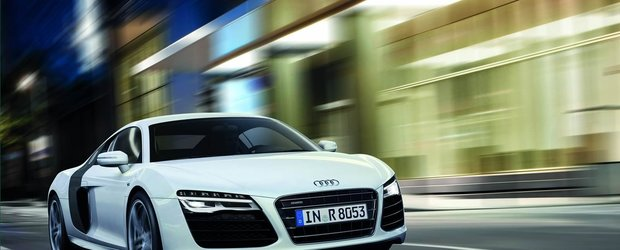 Noul Audi R8 porneste de la 91.575 lire sterline
