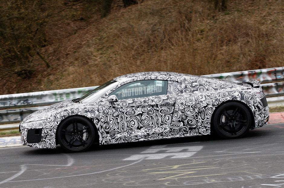 Noul Audi R8 - Poze Spion