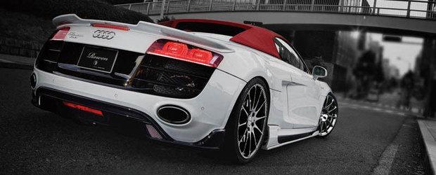 Noul Audi R8 primeste un tratament de la Tommy Kaira