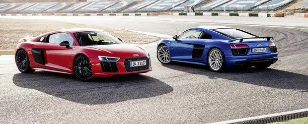 Noul Audi R8 revine in peste 100 de imagini interioare, exterioare si tehnice