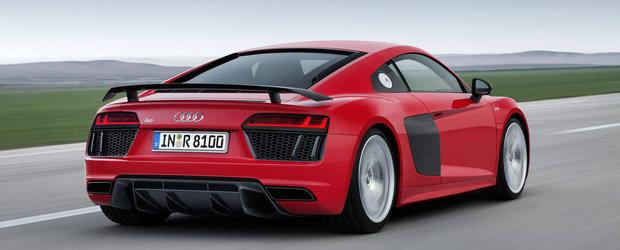 Noul Audi R8 V10 se prezinta intr-un clip nou cu toti cei 610 cp din dotare