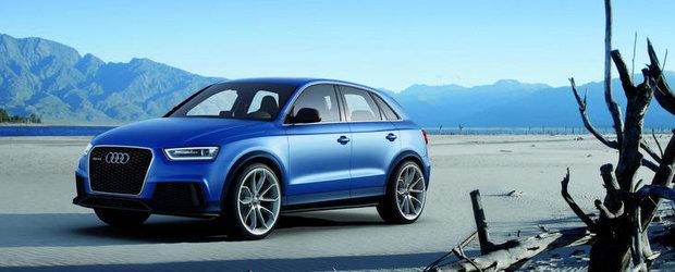 Noul Audi RS Q3 Concept beneficiaza de 360 CP, atinge suta in 5.2 secunde