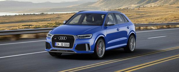 Noul Audi RS Q3 performance debuteaza oficial cu 367 CP sub capota