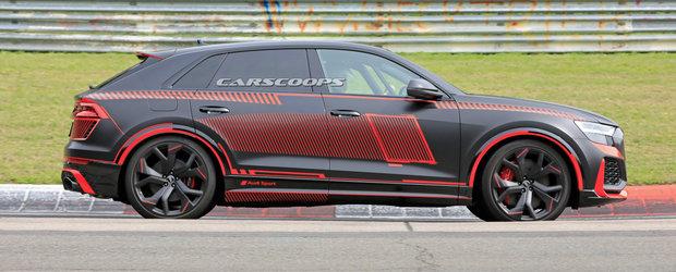 Noul AUDI RS Q8 surprins in premiera fara pic de camuflaj. Cum arata SUV-ul de performanta al nemtilor