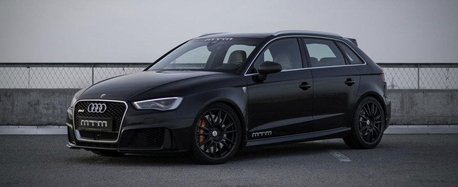 Noul Audi RS3 intra in clubul '300+ km/h', mulumita celor de la MTM