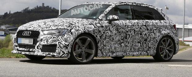 Noul Audi RS3 soseste in toamna, promite peste 350 CP