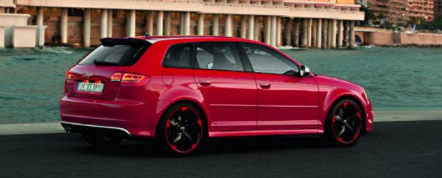 Noul Audi RS3 Sportback pozeaza pe strazile din Monaco!