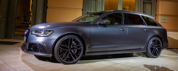 Noul Audi RS6 Avant isi face aparitia in primele imagini reale!