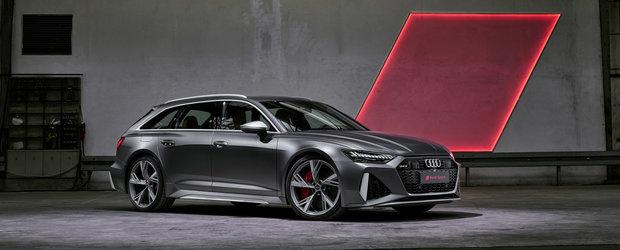 Noul AUDI RS6 Avant: l-ai vazut in poze si clipuri video, dar acum asculta cum suna acel V8 twin-turbo