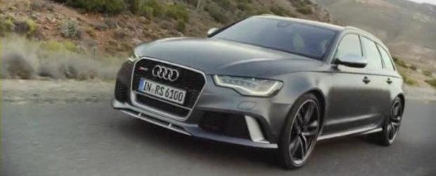 Noul Audi RS6 Avant suna absolut fantastic. Avem dovada chiar aici!