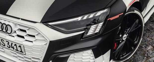 Noul Audi S3 apare de nicaieri si ni se arata in primele fotografii reale. PLUS cati cai are motorul 2.0 turbo