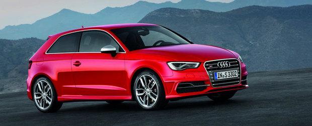 Noul Audi S3 beneficiaza de 300 CP, atinge suta in 5.1 secunde