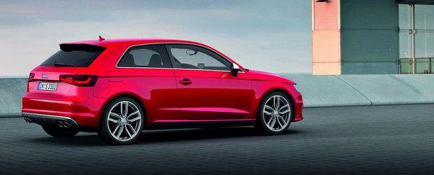 Noul Audi S3 costa aproape 42.000 de euro in Romania