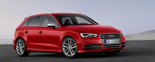 Noul Audi S3 isi face aparitia si intr-o versiune cu cinci usi