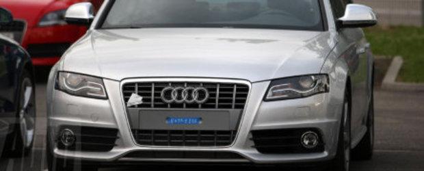 Noul Audi S4 surprins necamuflat