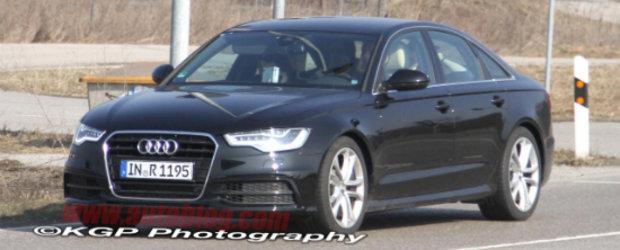 Noul Audi S6, surprins complet necamuflat!