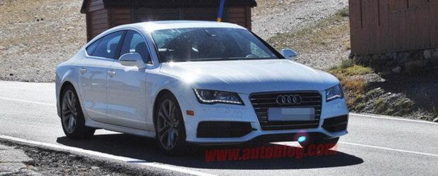 Noul Audi S7, surprins complet necamuflat!