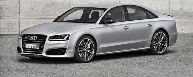 Noul Audi S8 Plus apare de nicaieri, promite 605 cai putere si 305 km/h
