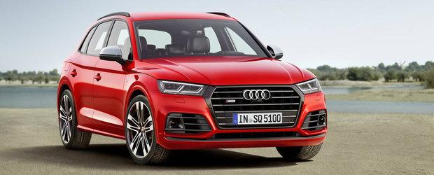 Noul Audi SQ5 aterizeaza la Detroit cu 354 de cai putere
