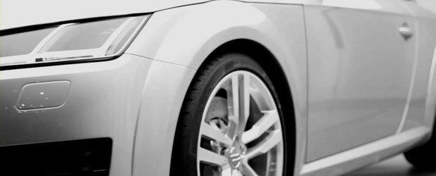 Noul Audi TT ne dezvaluie cateva dintre picanteriile sale vizuale