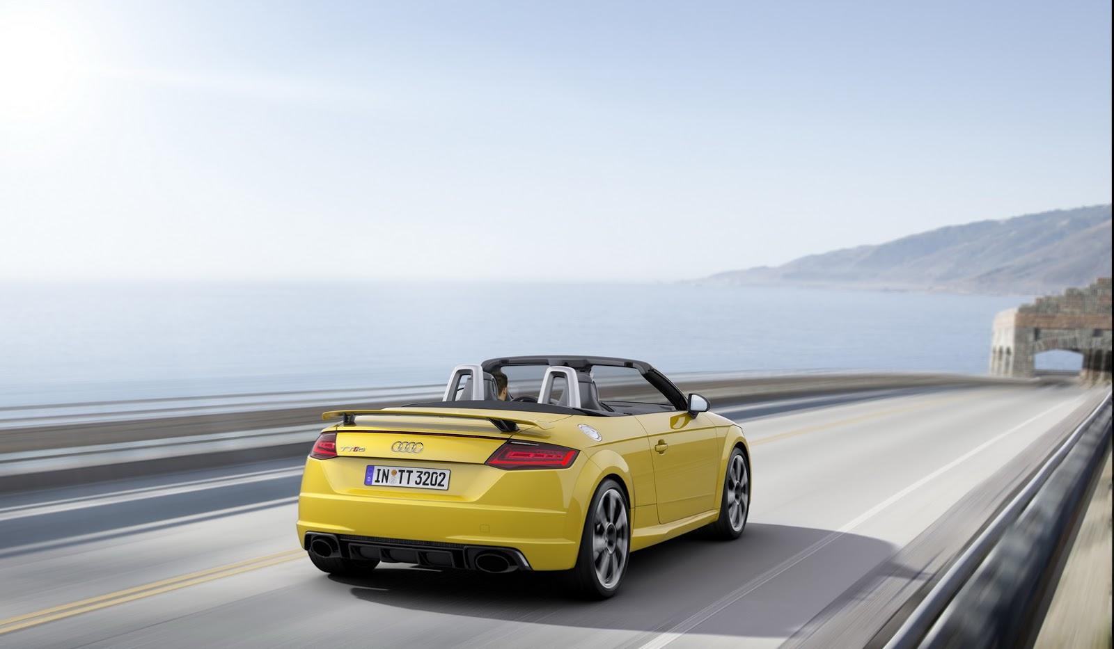 Noul Audi TT-RS - Noul Audi TT-RS