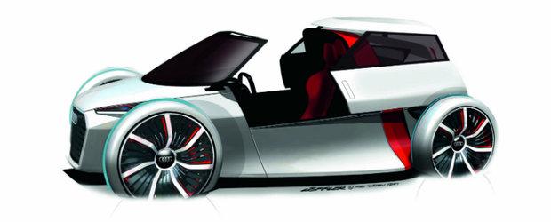 Noul Audi Urban Concept prefigureaza masina viitorului