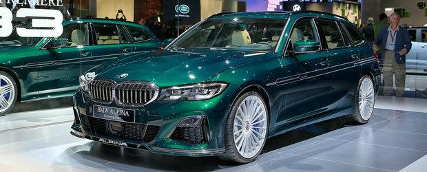Noul B3 Touring este M3-ul break pe care BMW nu vrea sa-l lanseze. POZE REALE cu cea mai noua creatie Alpina