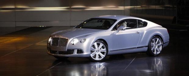 Noul Bentley Continental GT saluta lorzii inca nefalimentati