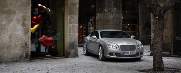 Noul Bentley Continental GT se prezinta in toata gloria sa!