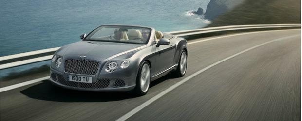 Noul Bentley Continental GTC - Calatorii cu stil in aer liber