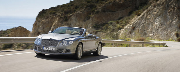 Noul Bentley Continental GTC promite calatorii cu stil, in aer liber - VIDEO!
