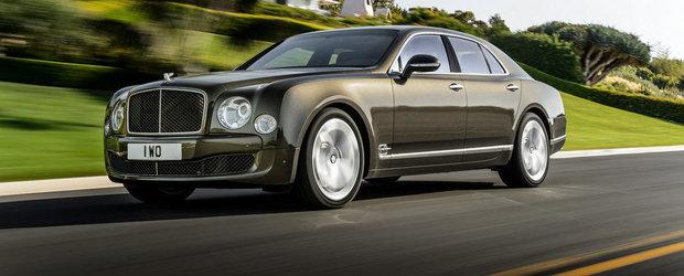 Noul Bentley Mulsanne Speed se anunta cea mai rapida limuzina a planetei
