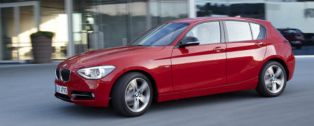 Noul BMW 114d ofera 95 cai putere, consuma 4.1 litri la 100 km