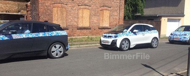 Noul BMW i3, surprins in teste in Europa