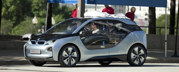 Noul BMW i3, surprins pe strazile din Chicago - VIDEO!