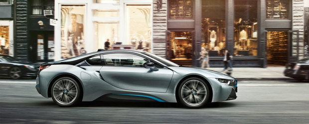 Noul BMW i8 ar fi putut avea in dotare un V10 aspirat