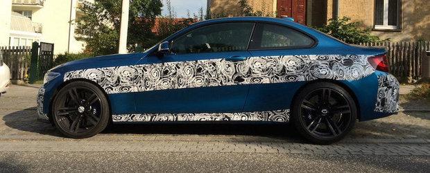 Noul BMW M2 Coupe in cele mai clare imagini de pana acum