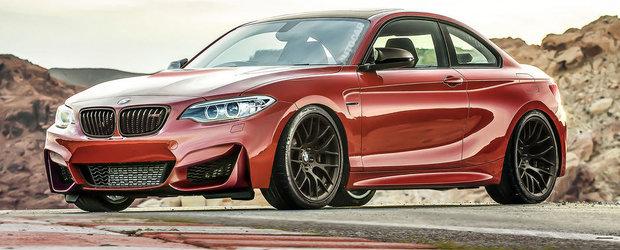 Noul BMW M2 Coupe promite 400 CP si performante de M3