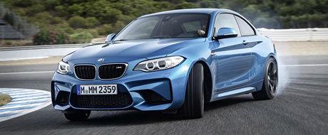Noul BMW M2 Coupe se lauda cu un 7:58 la Nurburgring